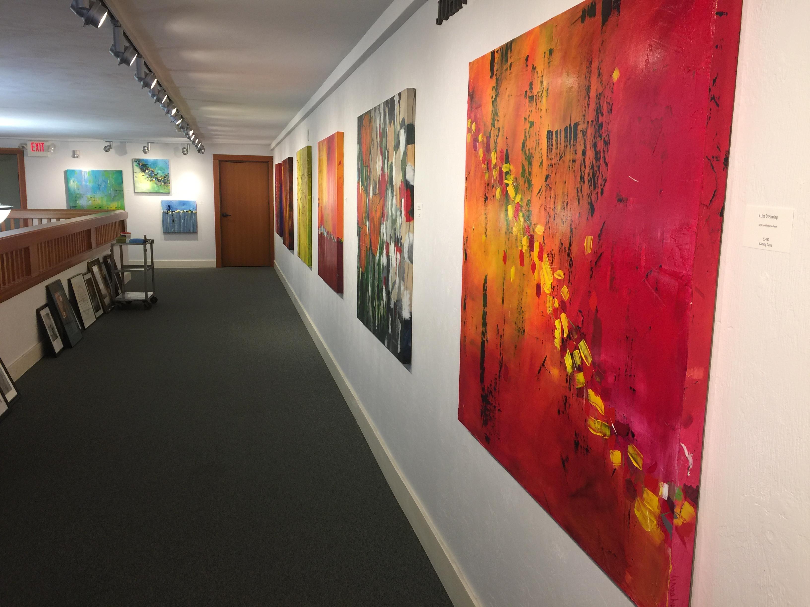Oregon Artist, Oregon Art, Solo Exhibit, Abstract Expressionism
