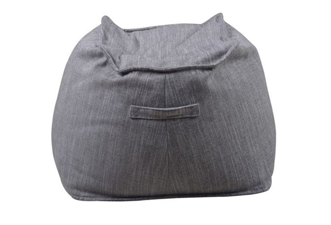Bean Pouf Grey