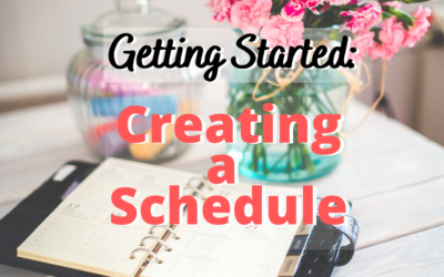 008:Getting Started: Creating a Schedule