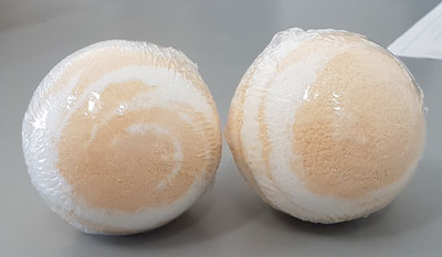 bath bombs orange