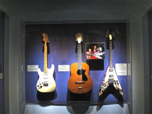 photo of 3 Jimi Hendrix guitars