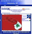 National Weather Service - Honolulu