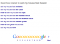 Google Related Searches for Real Estate