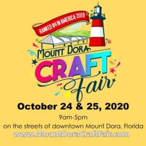 Mount Dora Craft Fair website