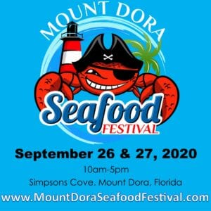 Mount Dora Seafood Festival website