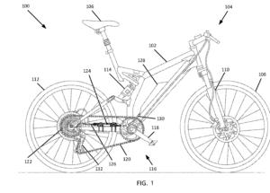 SRAM ebike patent