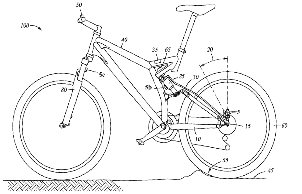 Fox Racing Patents: Crank Sensor & Live Valve
