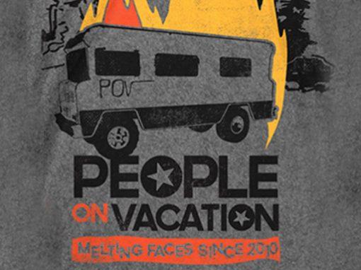 People On Vacation RV Tee