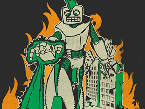 Bowling For Soup Robot Tee