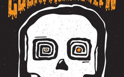 Cosmic Coffee Halloween Poster