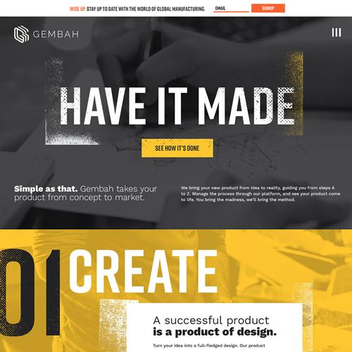 Gembah Website