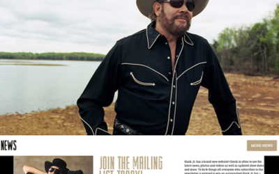 Hank Williams, Jr. Website