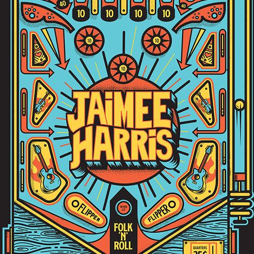Jaimee Harris Pinball Posters