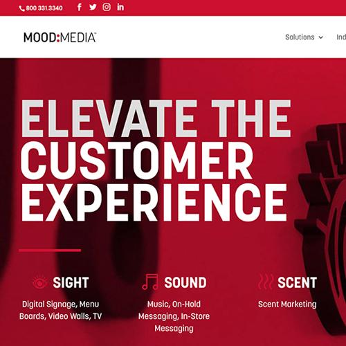 Mood Media Website
