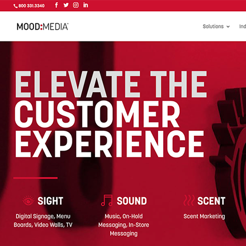 Mood Media Website