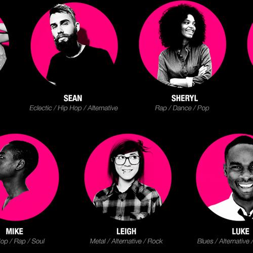 Music Influencer App UX Design