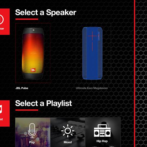 Speaker Demo App UX