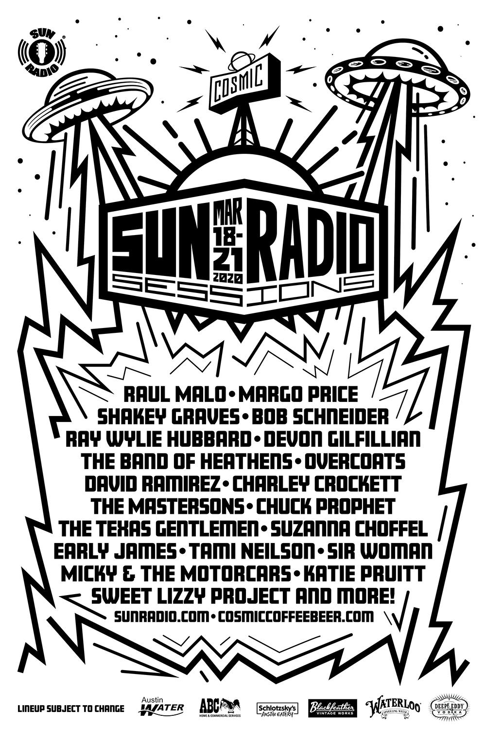 Sun Radio Cosmic Poster