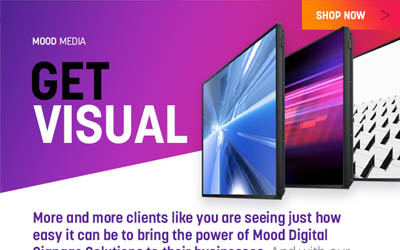 Mood Media Store Email Campaign