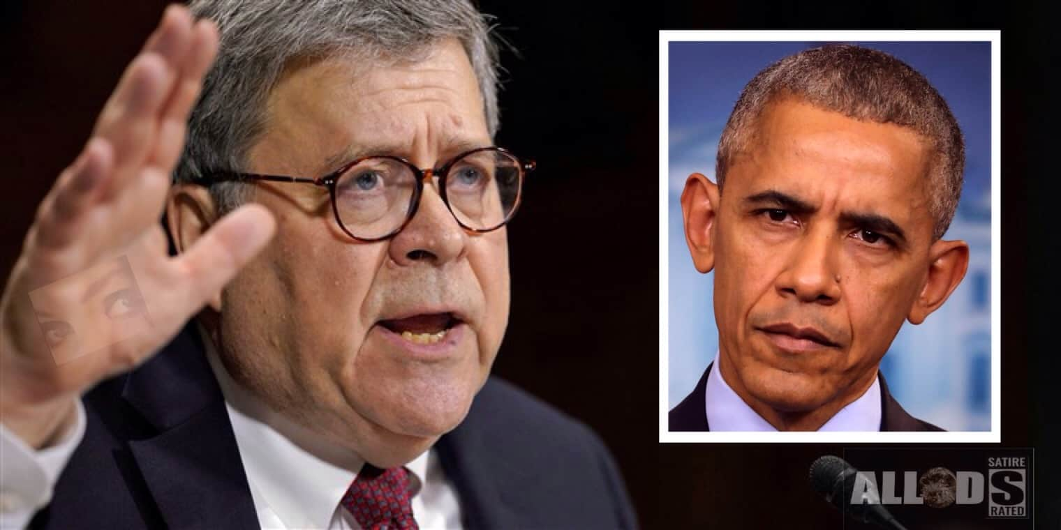 Barr Says Charges Coming From Obama-Isis Connection