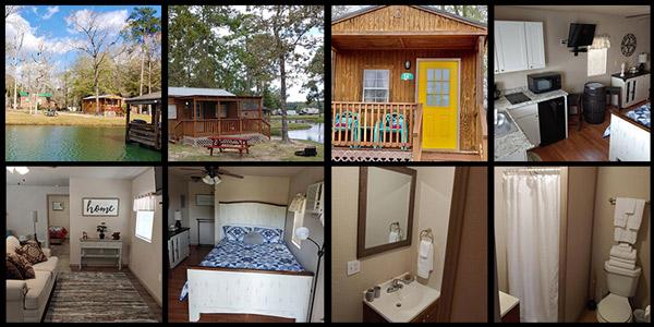 Cabin Rentals in Conroe Texas