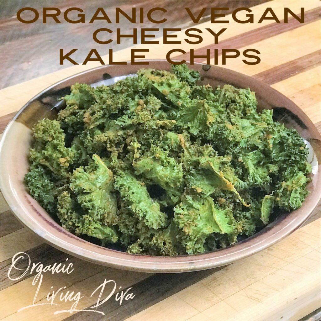 Organic Vegan Cheesy Kale Chips