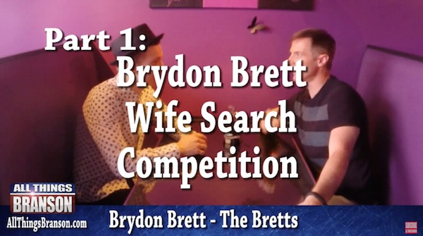 The Bretts and Brydon Brett on Open Mic