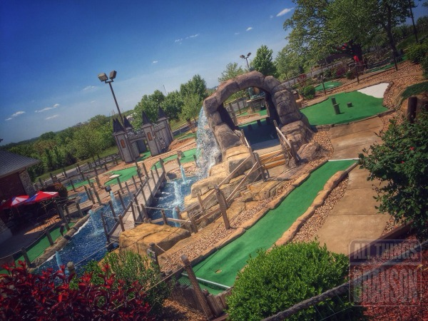 Fun With the Whole Family: Mini Golf, Track 4, and Andy's
