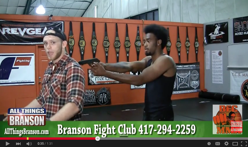 Self Defense Minute with Branson Fight Club
