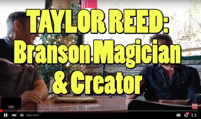 OPEN MIC: Magician Taylor Reed