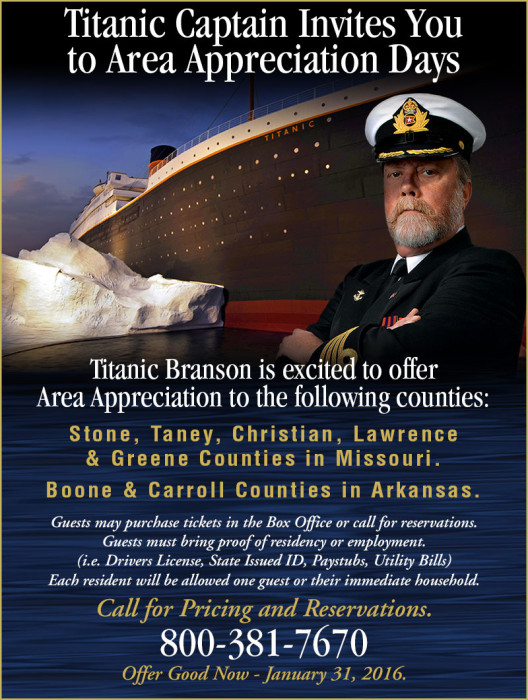 The Titanic Captain Has An Invitation For You…
