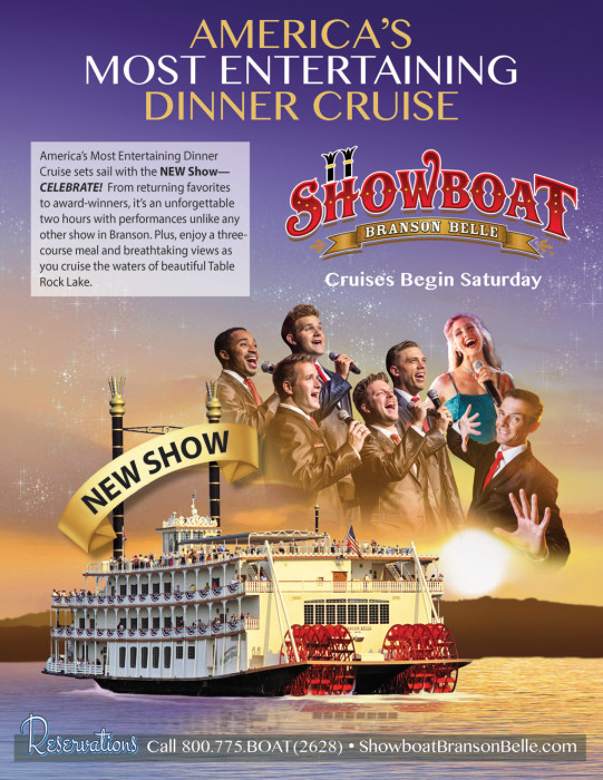 The Showboat Branson Belle, Opens Today!