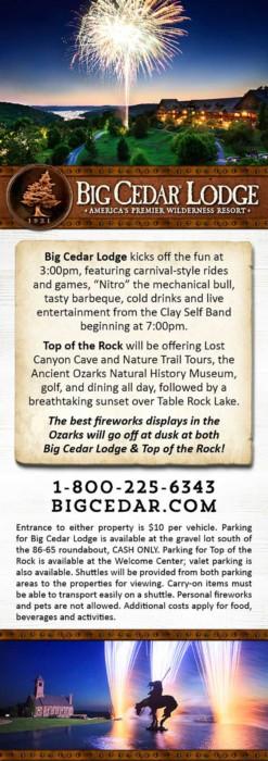WOW!  4 of July Fun At Big Cedar in Branson, Missouri!