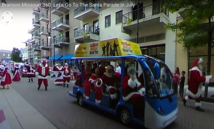 BRANSON 360: Experience the Santa Parade in 360! AMAZING!