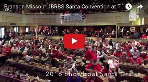 NEW BRANSON VIDEO: Branson Missouri IBRBS Santa Convention at The Showboat Branson Belle