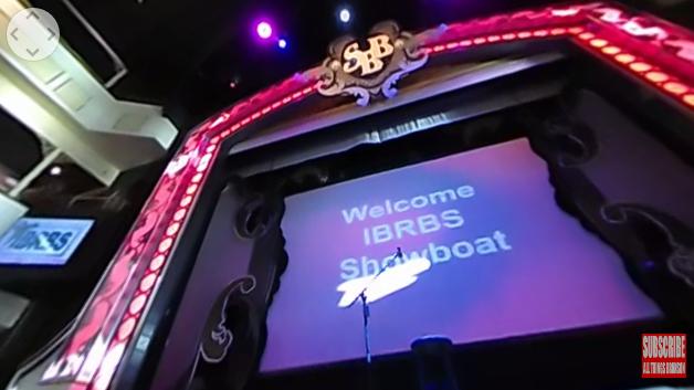 NEW VIDEO: Branson Missouri IBRBS Santas Filing Into The Showboat