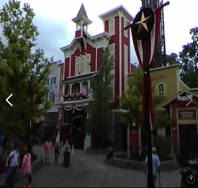 BRANSON MISSOURI 360: Fireman's Landing At Silver Dollar City