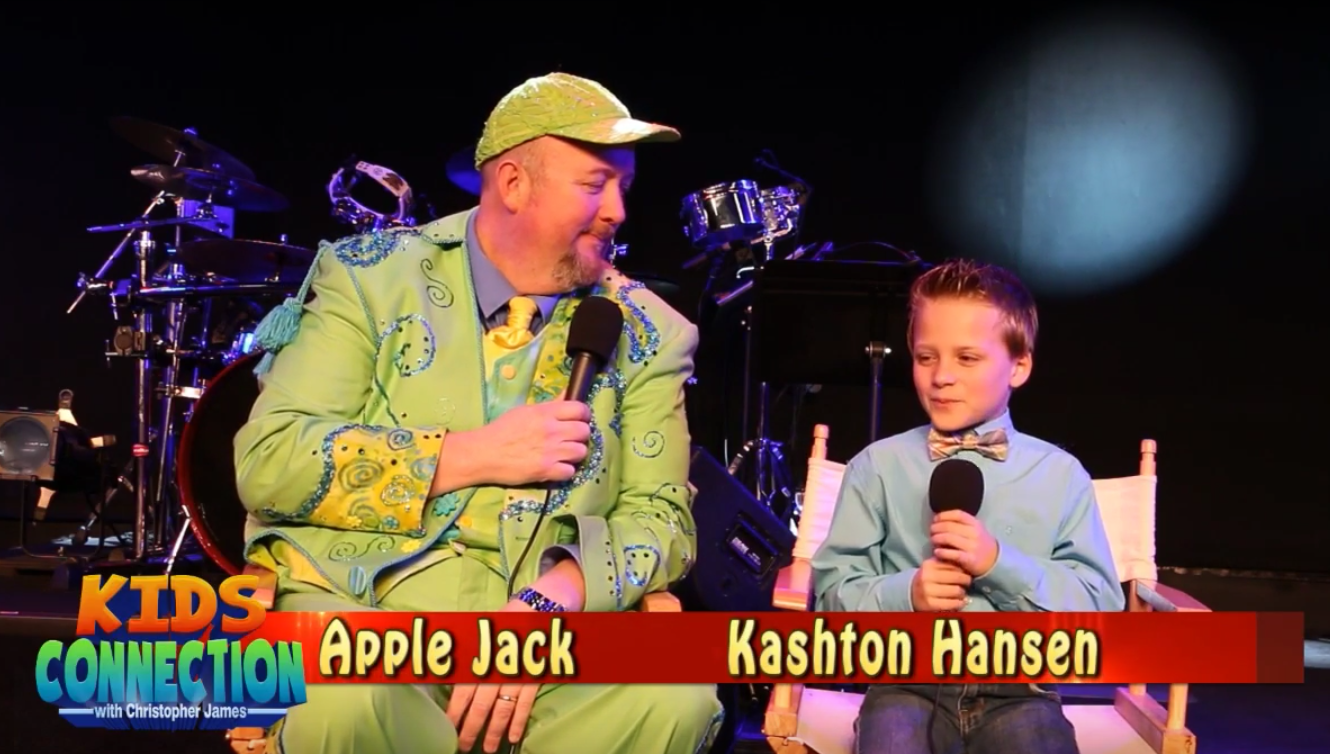 Amazing Kid Talya Tinoco and The Hilarious Apple Jack on Kids Connection