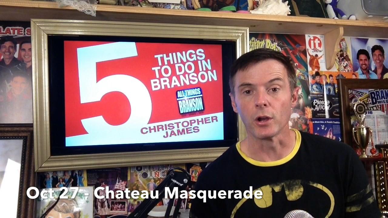 NEW BRANSON VIDEO: Branson Missouri Things To Do : October 26, 2016