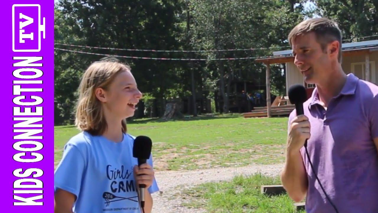 NEW BRANSON VIDEO: Branson Ziplining and Missouri Girls Camp on Kids Connection