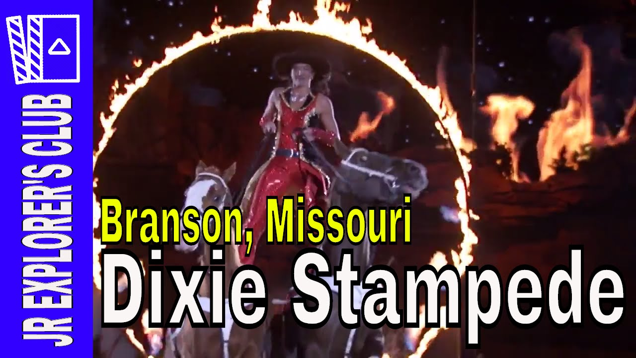 NEW BRANSON VIDEO: Dixie Stampede Branson Missouri Kids Review