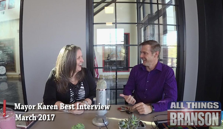 LISTEN NOW! Branson Mayor Karen Best 2017 Interview
