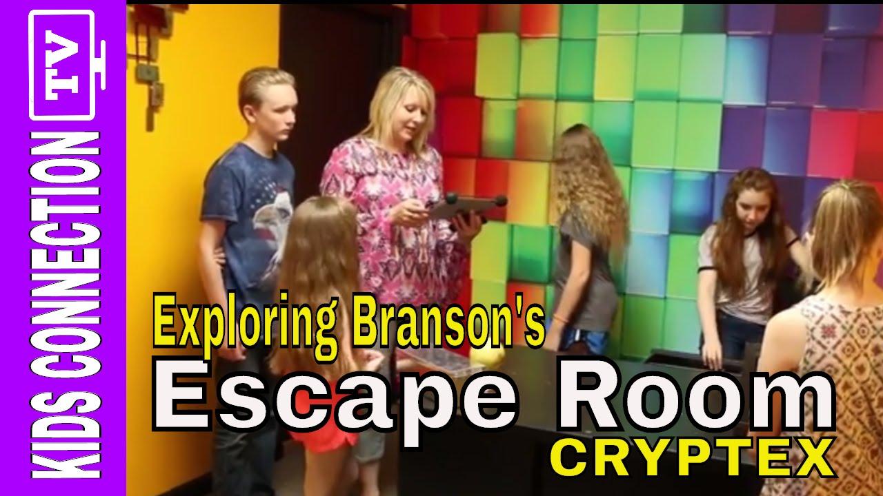 NEW BRANSON VIDEO: Cryptex Escape Room in Branson Missouri