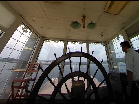 Branson Missouri: Showboat Branson Belle Pilot House 360 (2016)