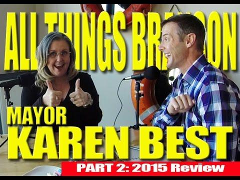 Branson Mayor Karen Best Interview: 2015 Summary Part 2 of 4