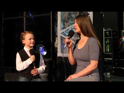 Cassandre on Kids Connection with Christopher James (2016)
