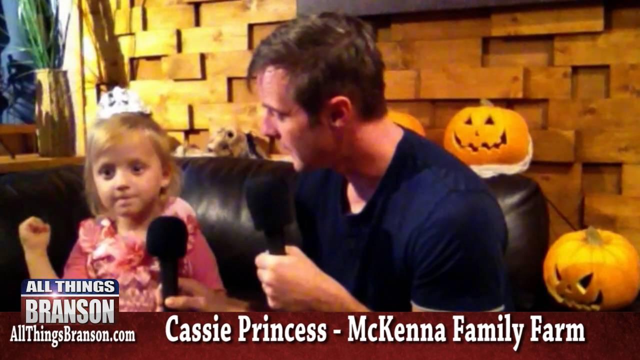 Branson Pumpkin Patch review with Cassie Princess