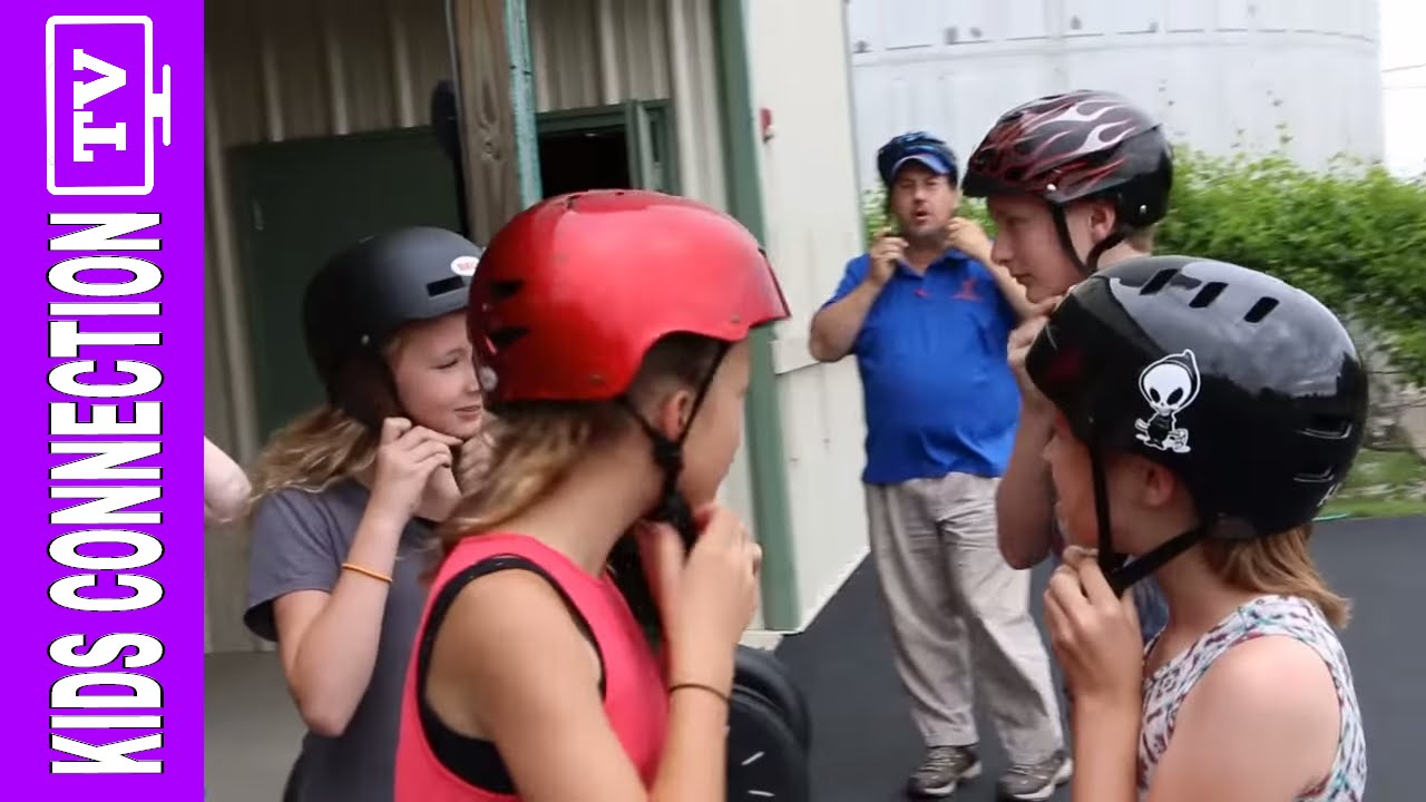 Branson Missouri Segways and Ziplines on Kids Connection (2016)