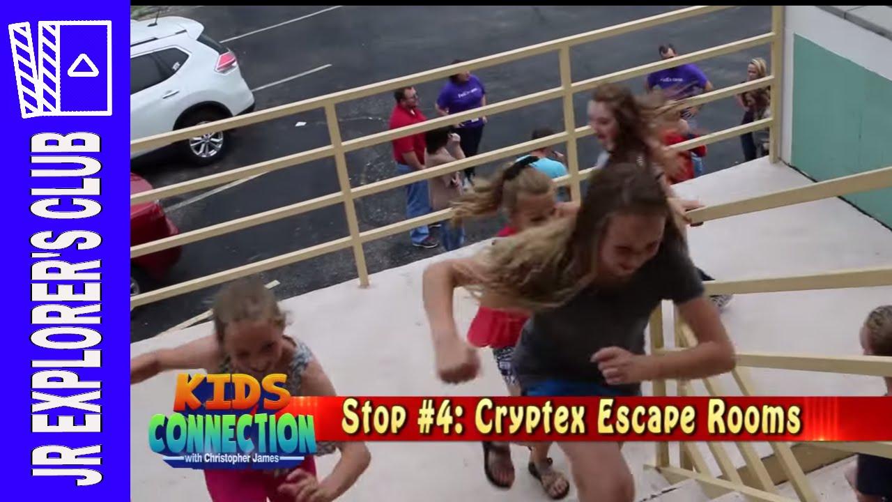 Branson Missouri Cryptex Escape Room On Kids Connection (2016)