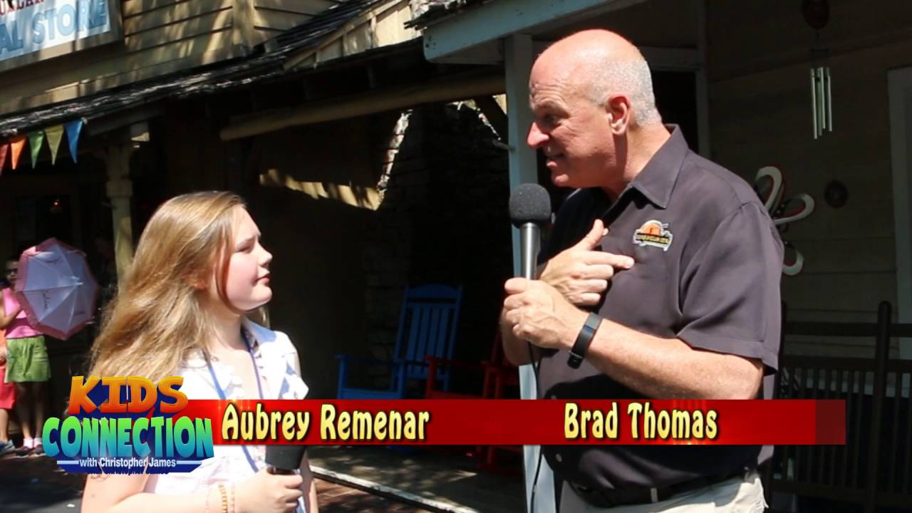 Silver Dollar City's President Talks with our Kids Connection Jr Reporter (2016)